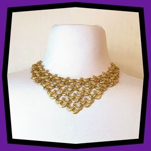 1963 Monet Bib Necklace- Ad feature!